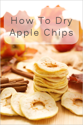 How to dehydrate apples?