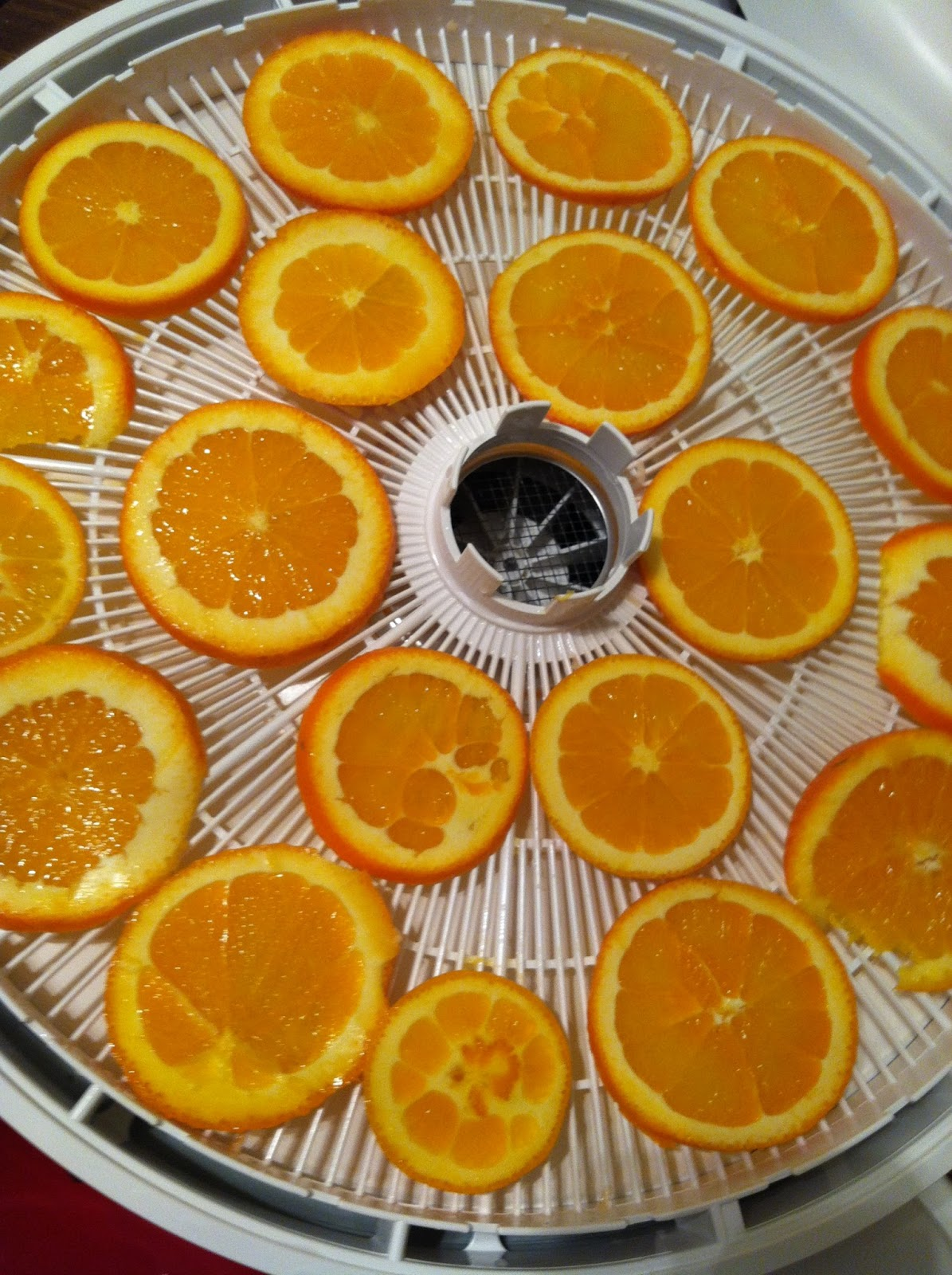How to dehydrate oranges?